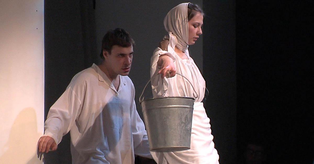 Одна абсолютно счастливая деревня, спектакль Петра Фоменко
