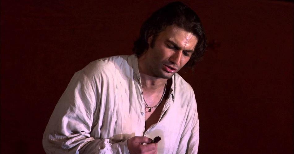Йонас Кауфман в опере Кармен
