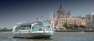 Вечерняя прогулка по Дунаю на теплоходе Легенда с ужином