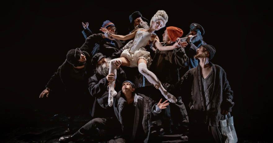 Спектакль Левша, Театр Наций
