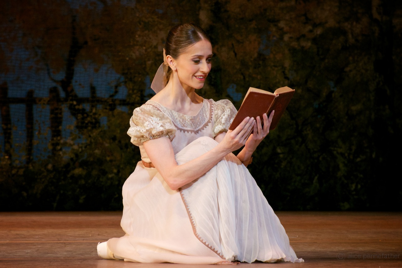 Марианела Нуньес в балете Онегин