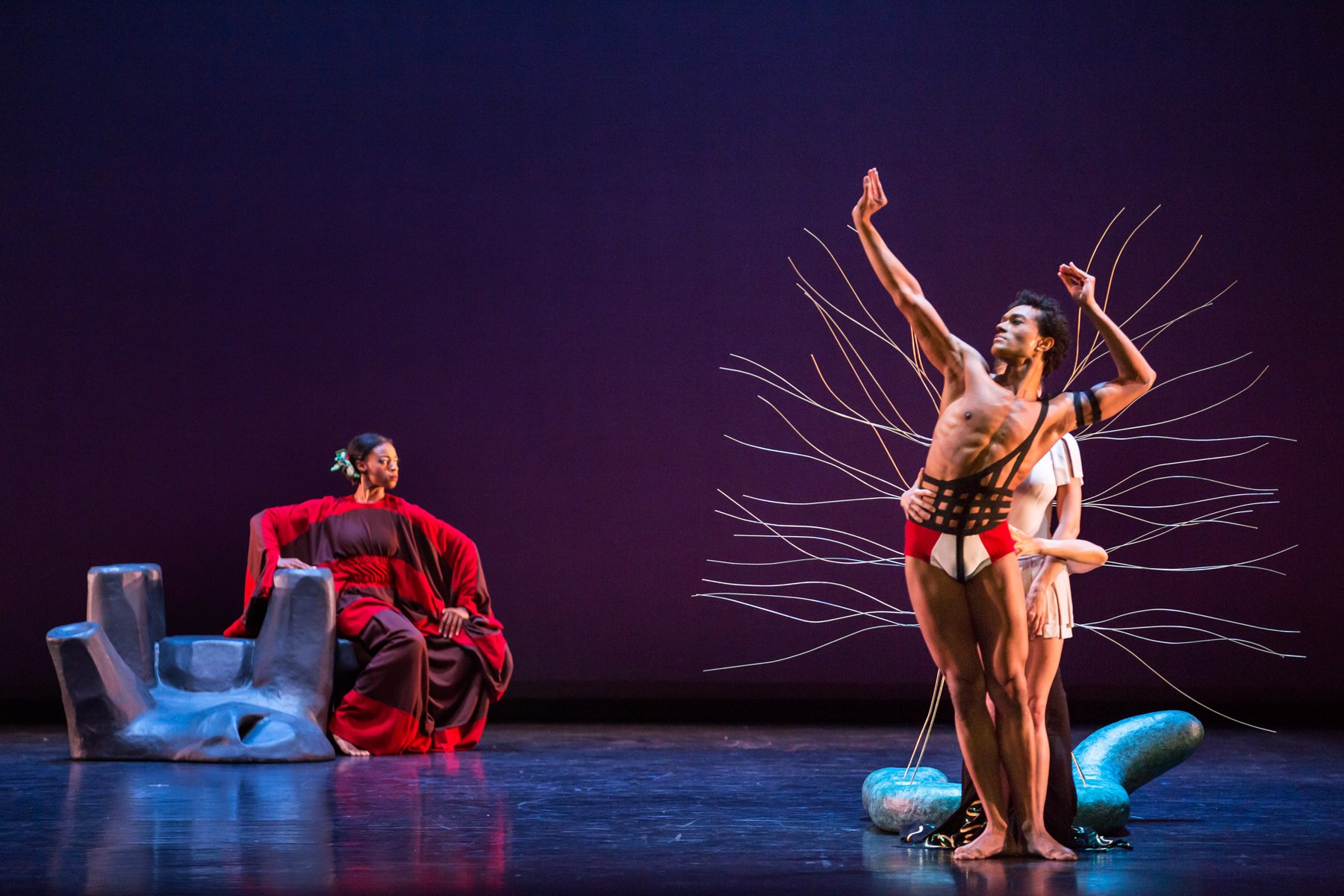 "Marta Graham Dance Company ""Cave of the Heart."""