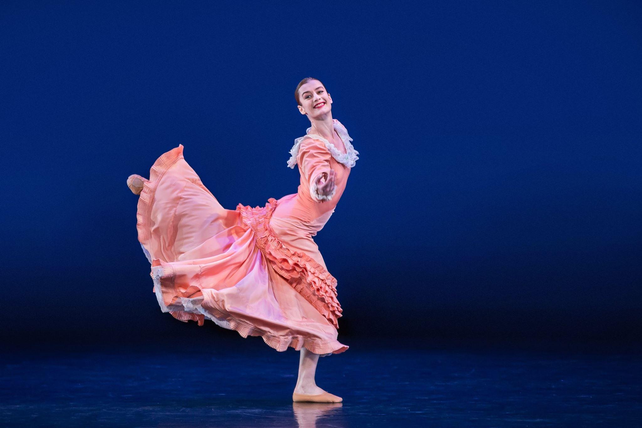"Marta Graham Dance Company ""Appalachian Spring."""