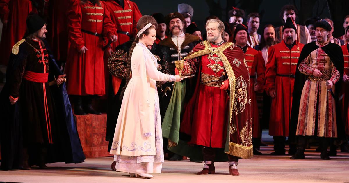 Опера Мазепа, Большой театр