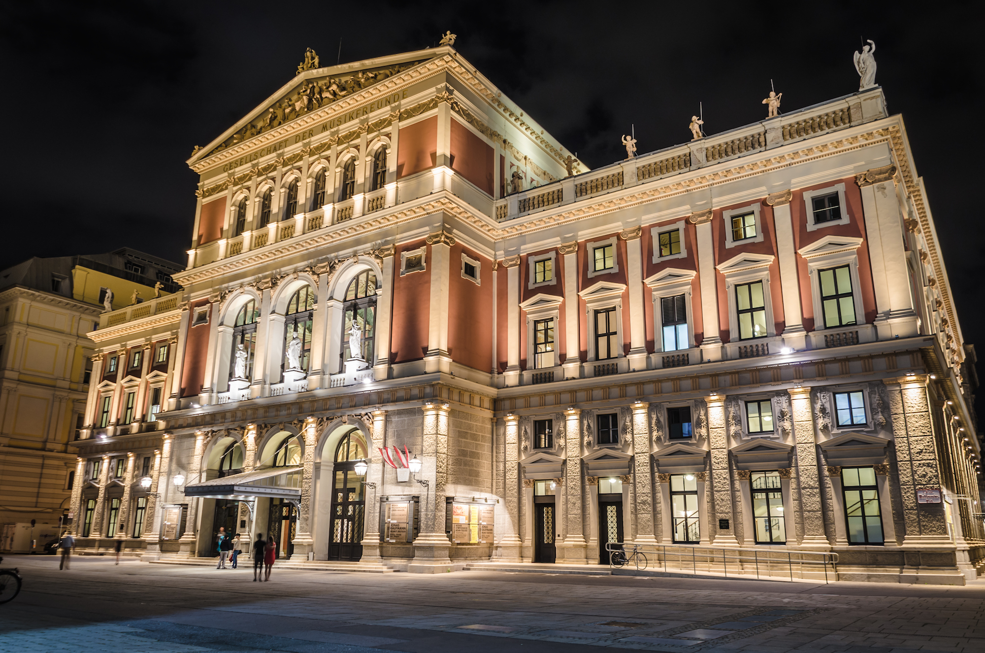 Венская филармония Мюзикферайн / Musikverein