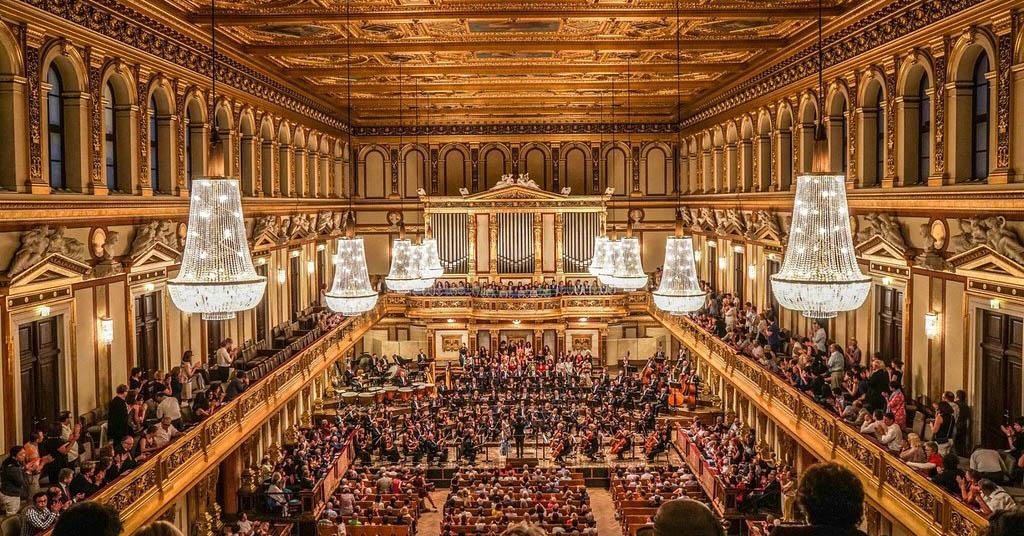 Венская филармония, Большой (Золотой) зал / Wiener Musikverein, Grosser Saal