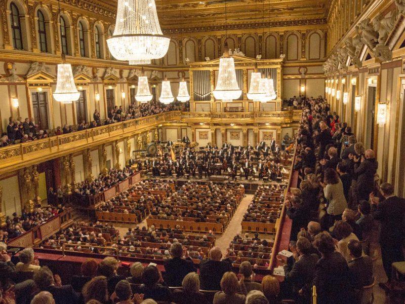 Венская филармония Мюзикферайн / Wiener Musikverein, Золотой зал