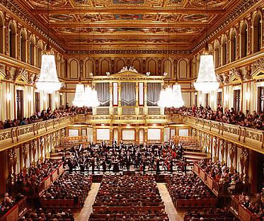 Зал Венской филармонии