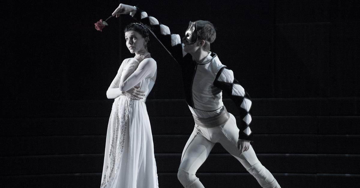 Наталья Осипова и Леонид Сарафанов в балете Ромео и Джульетта