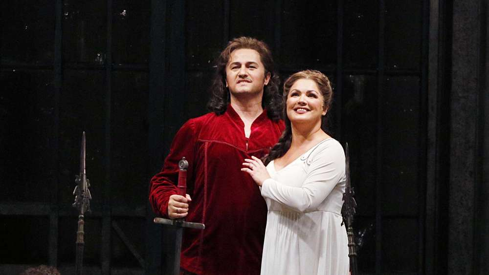Анна Нетребко и Петр Бечала