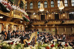 Новогодние концерты в Золотом зале Музикферайн