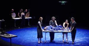 Спектакль «Союз» в постановке ливанского хореографа Омар Ражеха