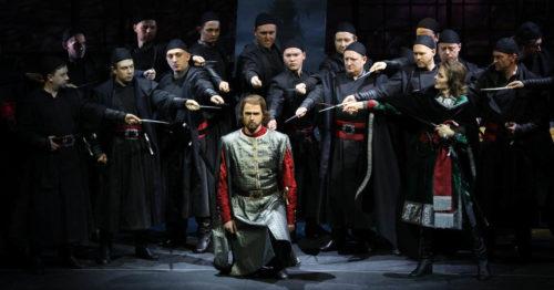 Опера Опричник - Михайловский театр