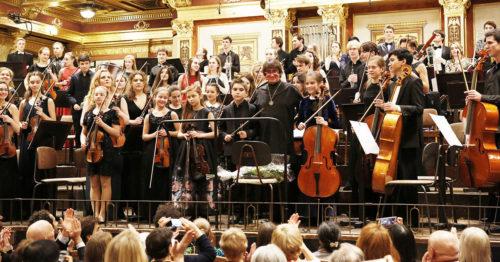 Всероссийский юношеский симфонический оркестр под руководством Юрия Башмета