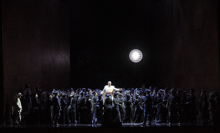 Опера Отелло в Венской опере