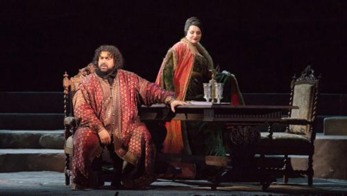 Хибла Герзмава в премьере оперы Отелло в постановке Андрея Кончаловского