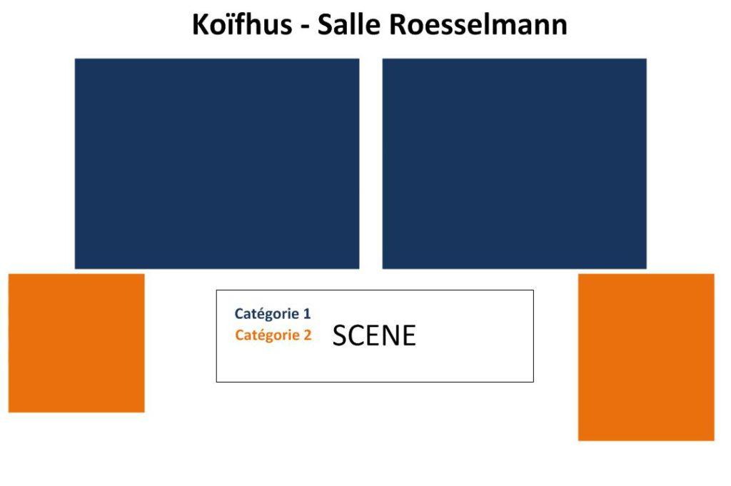 Схемы площадок фестиваля в Кольмаре. Старая таможня (Koïfhus – Salle Roesselmann)