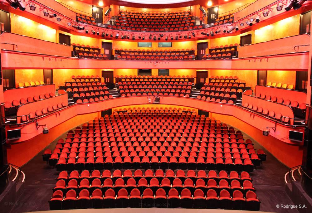 Схема зала оперного театра в Лозанне