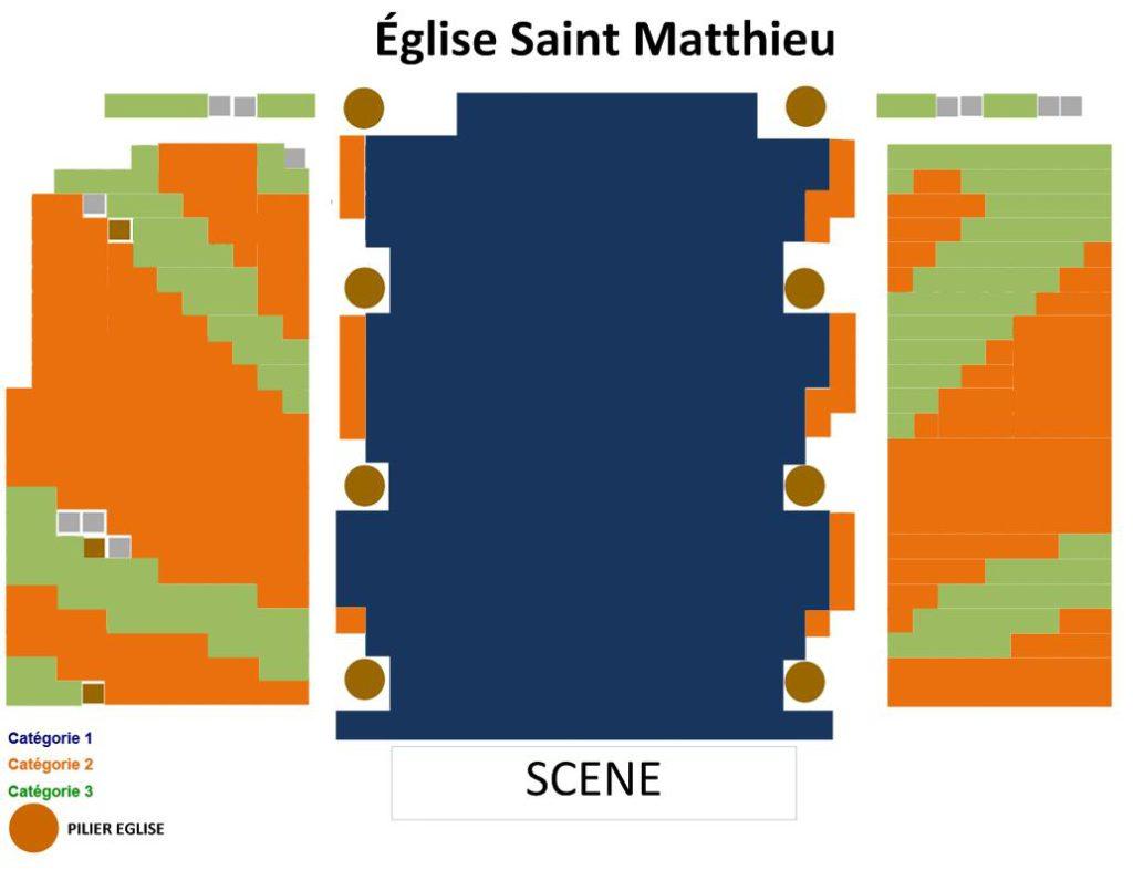 Схемы площадок фестиваля в Кольмаре. Церковь Св. Матфея (Église Saint Matthieu)