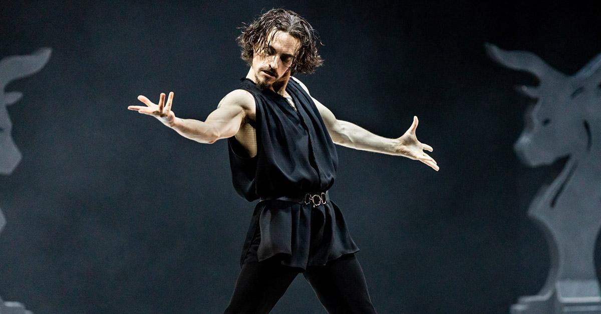 Сергей Полунин в балете «Распутин»