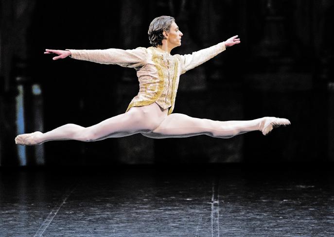 Сергей Полунин - балет Раймонда