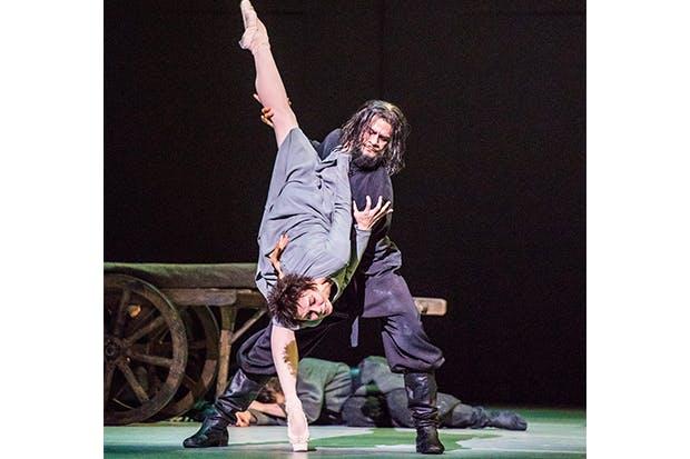 Сергей Полунин в балете Распутин