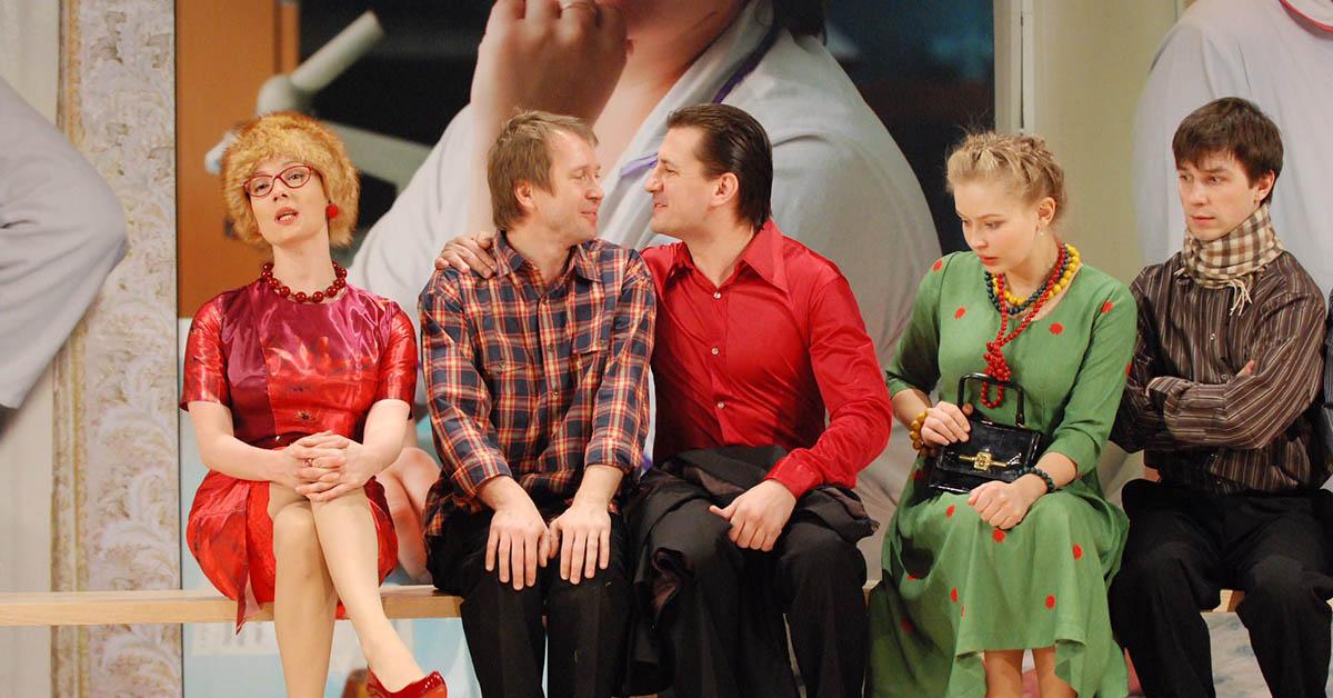 Спектакль Рассказы Шукшина, Театр Наций