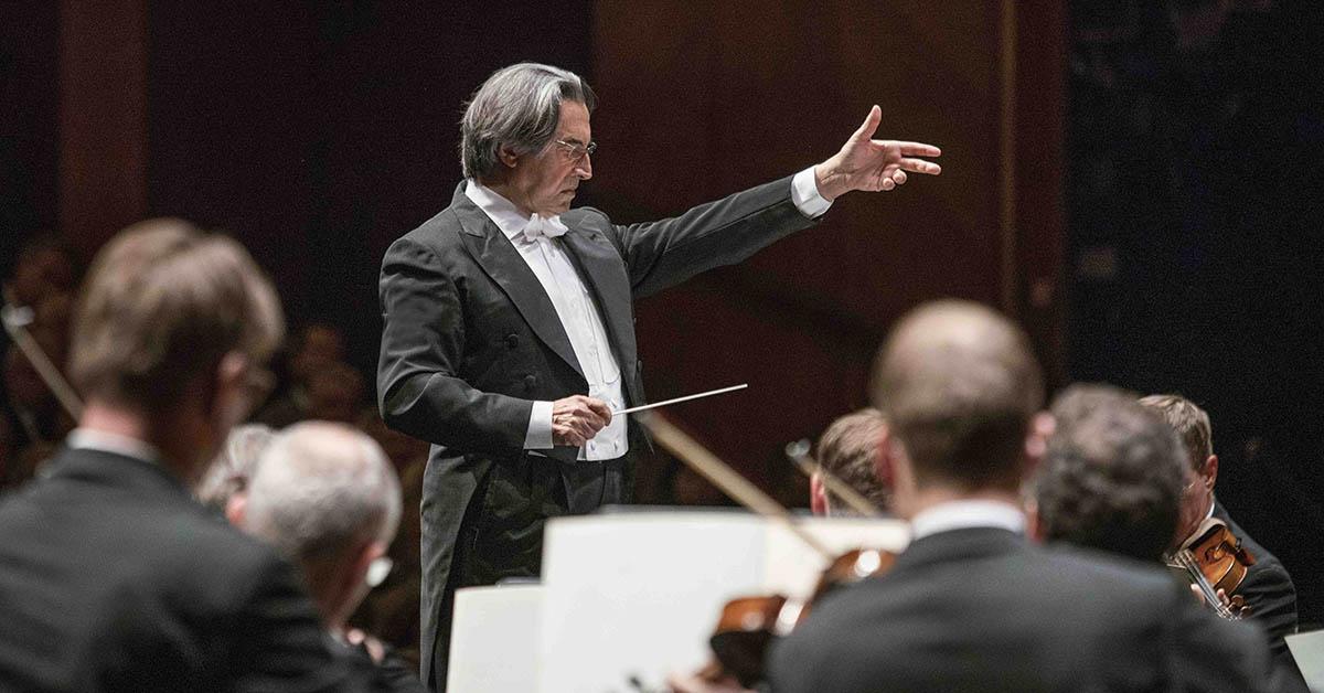 Рикардо Мути и Венский филармонический оркестр