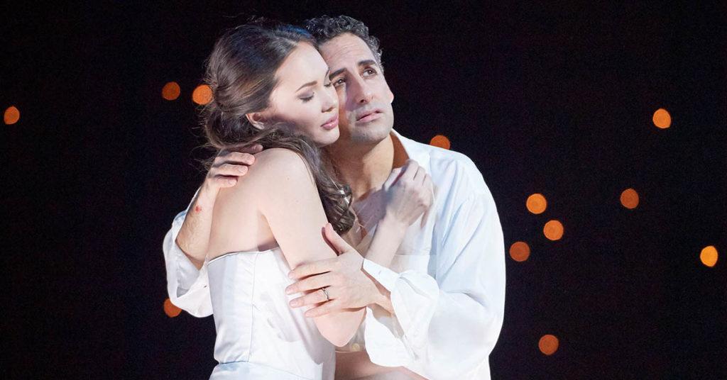 Аида Гарифуллина и Хуан Диего Флорес в опере Ромео и Джульетта, Венская Опера