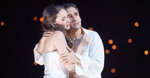 Аида Гарифуллина и Хуан Диего Флорес в опере Ромео и Джульетта