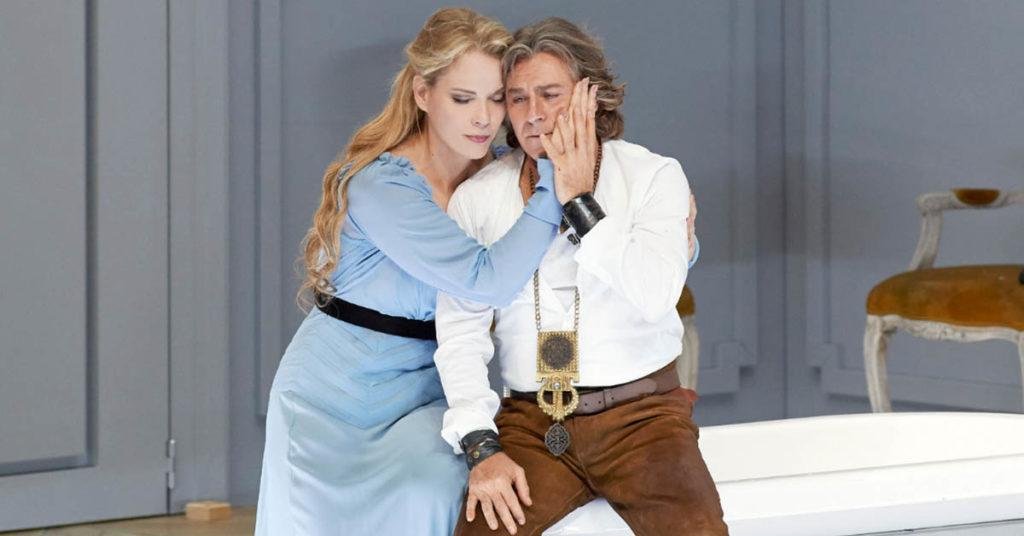 Элина Гаранча и Роберто Аланья в опере Камиля Сен-Санса «Самсон и Далила»