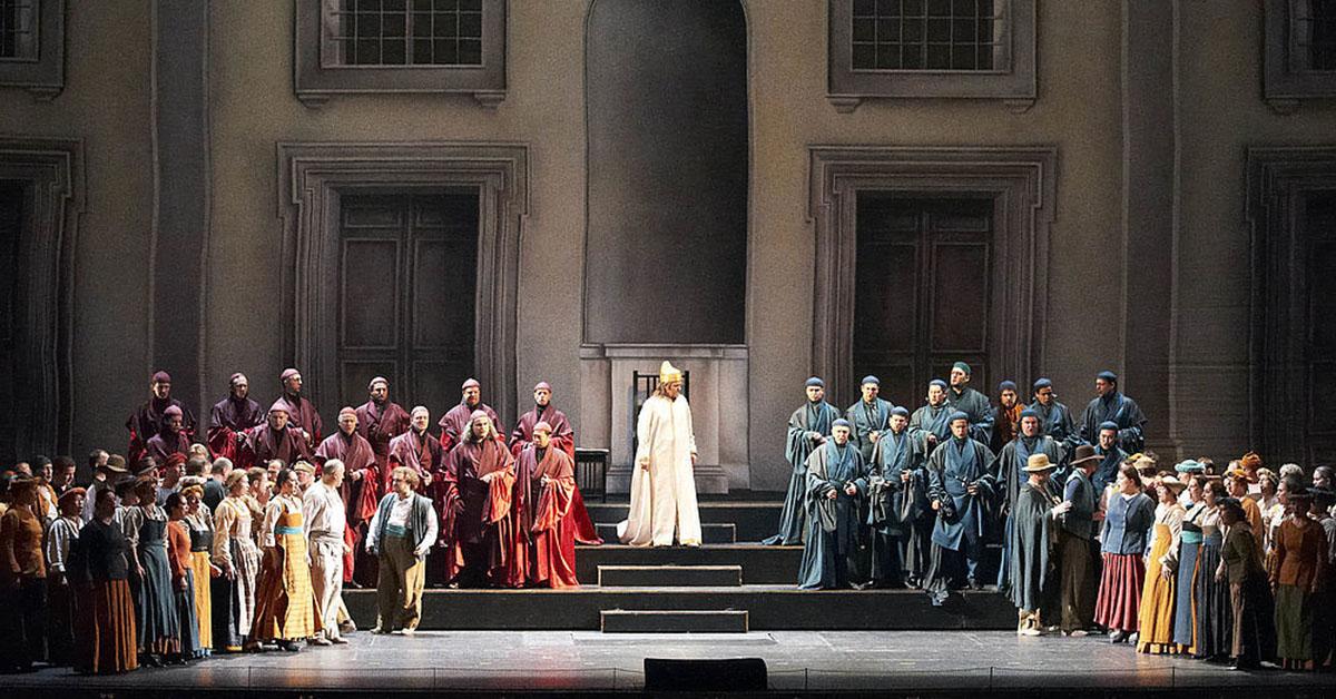 Симон Бокканегра в Венской государственной опере
