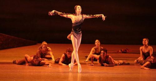 Светлана Захарова в балете Спартак