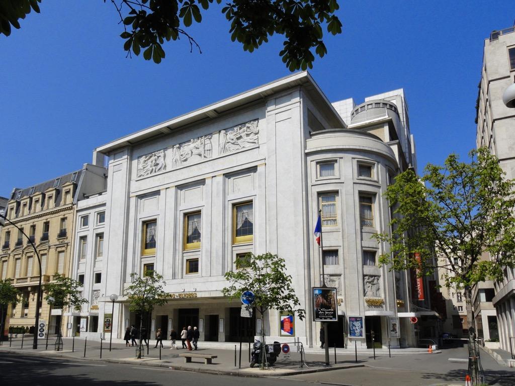 Театр Елисейских Полей / Théâtre des Champs-Élysées