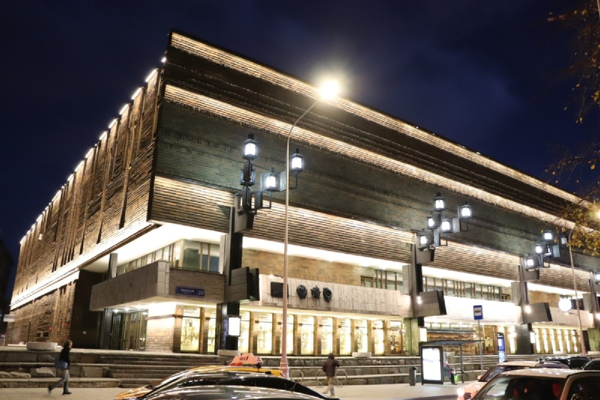 Новое здание МХАТ