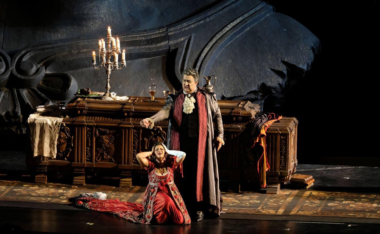 Опера Тоска на фестивале Арена ди Верона