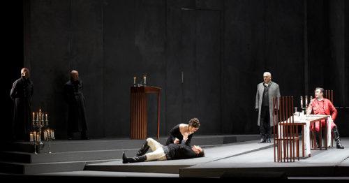 Опера Тоска в Дрезденской государственной опере