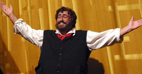 Лучано Паваротти в опере Тоска, Метрополитен-Опера
