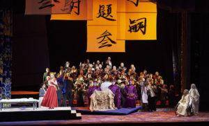 Опера Турандот Джакомо Пуччини в Венской опере