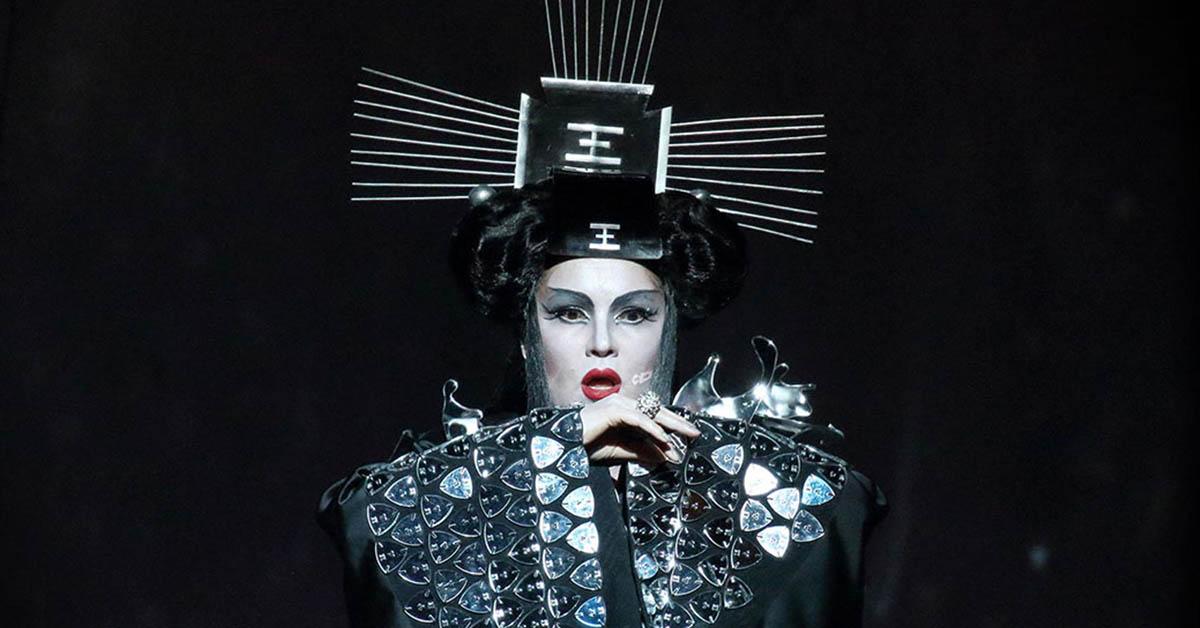 Анна Нетребко в опере «Турандот»