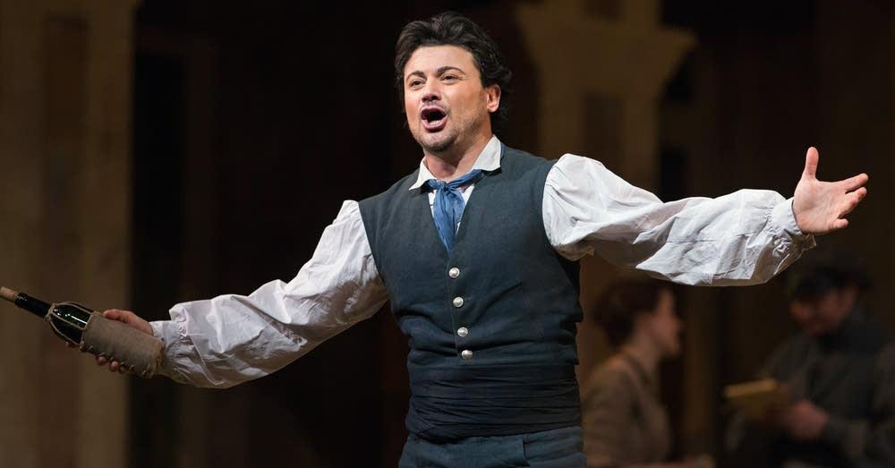Витторио Григоло в опере Любовный напиток
