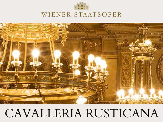 опера Сельская честь, Венская опера