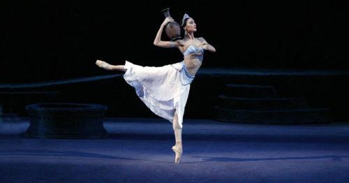 Светлана Захарова, балет Баядерка, Большой театр