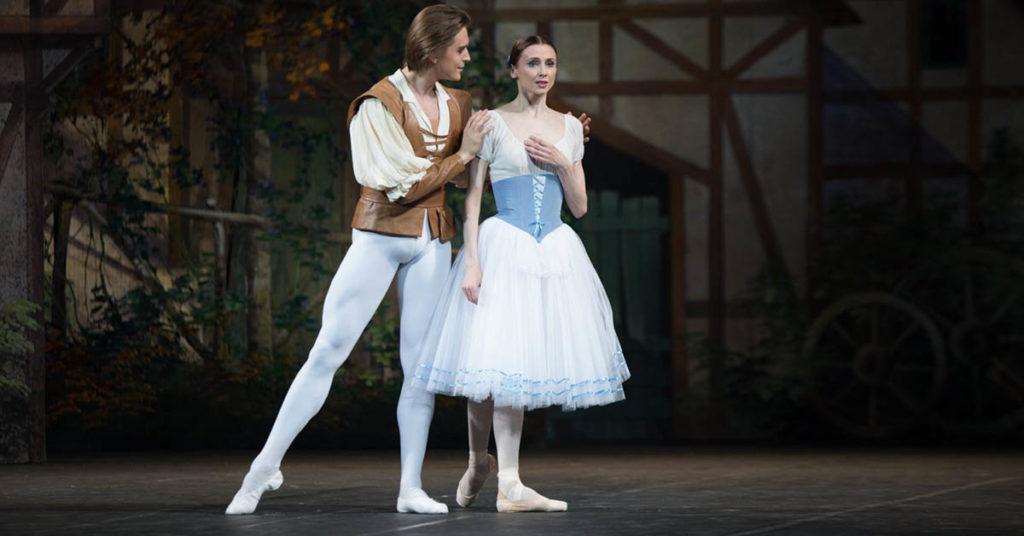 Светалана Захарова и Денис Родькин в балете «Жизель»